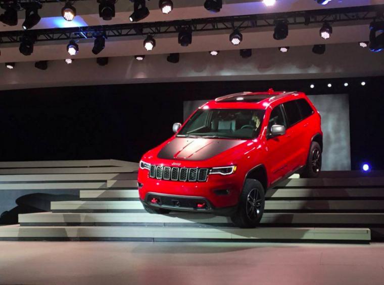 Grand Cherokee Trailhawk Jeep 2017 Model