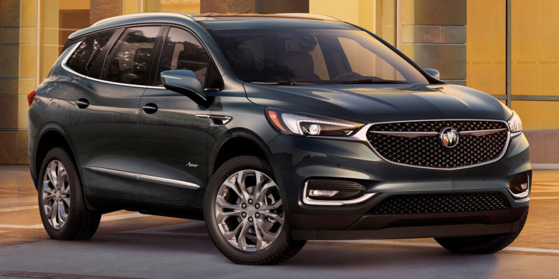 The Luxurious Interior Of The New 2019 Buick Enclave